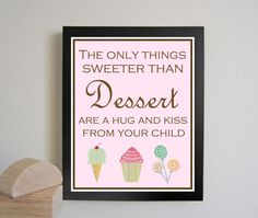 Nursery art print Childrens Art  Typography 11x14 by justbunch, $25.00