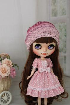Dress for  Blythe and same doll 1/6 size by ElenaShowRoom on Etsy