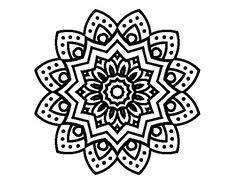 26 Flower Mandala Coloring Pages Adults printable coloring pages - ColoringPin Mandala Art, Lotus Flower Mandala, Lotus Flower Design, Simple Mandala, Mandala Canvas, Mandalas Painting, Mandalas Drawing, Lotus Flowers, Easy Coloring Pages