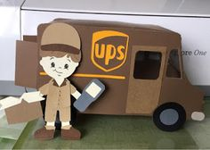 stampncricut: 3D UPS TRUCK