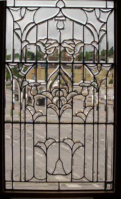 Fantastic leaded glass window