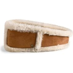 UGG Australia Accessory's Ultra Headband Chestnut Earmuffs ($95) ❤ liked on Polyvore featuring accessories and ugg australia