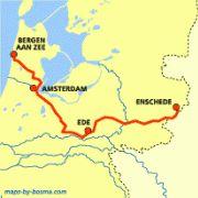 Het Trekvogelpad, ook wel 'Pieterpad-Overdwars' genoemd, is het langste natuurpad van Nederland! Het loopt van Bergen aan Zee dwars door Midden-Nederland naar Usselo vlakbij de Duitse grens. Een must voor ornithologen want het Trekvogelpad loopt langs veel vogelnatuurgebieden. Verrekijker meenemen dus! Hiking Routes, Hiking Trails, Places To Travel, Places To Go, Outdoor Life, Bergen, Netherlands, Holland, Law
