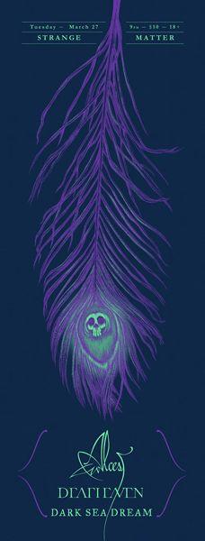GigPosters.com - Alcest - Deafheaven - Dark Sea Dream
