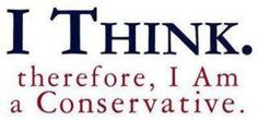 NOT a Republican! A conservative American and proud of it !