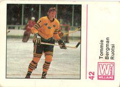 Jääkiekko 71-72 -keräilysarja - 42 Bergman
