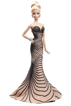 I always love seeing Barbie with a glam new look and this one comes courtesy of designer extraordinaire Zuhair Murad. The Barbie Doll wh. Barbie 2014, Barbie I, Barbie World, Barbie Dress, Barbie Clothes, Zuhair Murad, Barbie Style, Fashion Models, Looks Party