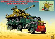 _Wacky Races_ _Fury-Road_-style by Mark Sexton