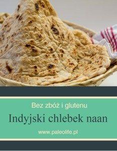 Indyjski chlebek naan paleo, bez glutenu i zbóż - paleolife