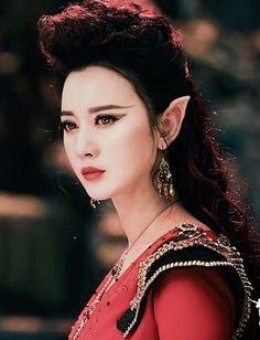 Ice Fantasy Ice Fantasy, Fantasy Romance, Fantasy Movies, Fantasy Characters, Dramas, Fire Fairy, Elf Art, Pretty Quinceanera Dresses, L5r