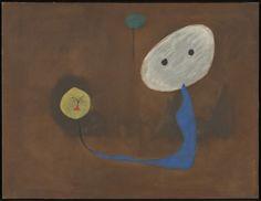 Joan Miró (1893-1983) Elle et Lui - She and Him (1925) oil on canvas 50 x 65 cm