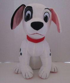 "Kohls Cares For Kids Patch Disney Dog 101 Dalmations Stuffed Plush Toy 11"" 2014 #KohlsCaresforKids"