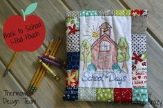 Sew Incredibly Crazy: Back to School I-Pad Pouch Tutorial and Giveaway