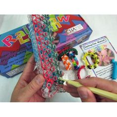 Rainbow Loom Bracelet Making Kit.. Would be great to make bracelets to add to an OCC Shoe box!