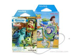 Fujifilm Instax Mini Film for Instant Film Camera - Toy Story/Monster University, 10 Sheets/Pack x 20 Sheets) Instax Mini 8 Camera, Instax Mini Film, Fujifilm Instax Mini 8, Poloroid Camera, Cute Camera, Toy Camera, Monster University, Disney Fun, Disney Movies