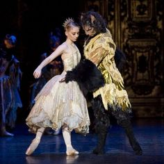 Beauty & the Beast. Photo: Bill Cooper i need this ballet. i haven't seen it, but i have a strong feeling that its the best thing in the world.