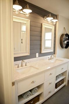 20+ Optimum Shiplap Wall Bathroom Design Ideas