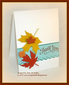 Neva's Crafty Cave: Thank You Perfectly Penned