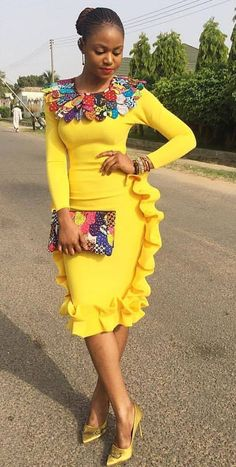 African print accessories in African fashion, Ankara, kitenge, African women dresses… – African Fashion Dresses - 2019 Trends African Dresses For Women, African Print Dresses, African Print Fashion, Africa Fashion, African Attire, African Wear, African Fashion Dresses, African Women, African Prints