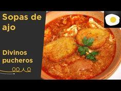Sopas de ajo, de Sor Liliana y Sor Beatriz (Receta) | Divinos pucheros - YouTube