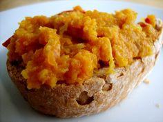 Mrkvová nátierka Gluten Free Breakfasts, Breakfast Cake, Baked Potato, Potatoes, Bread, Baking, Ethnic Recipes, Food, Potato
