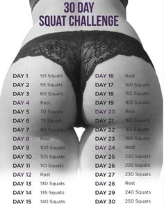 It's a myth, that ever elusive perfect butt, or is it? Swimsuit season is here but it's not too late. Give this 30­day squat challenge a try. Wanna build those glutes, this is the key to booty nirvana. Anyone can do this at home or at work or at the gym, all you need is 15 MINUTES A DAY!!! That's like listening to five songs in a row and you're done!!