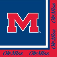 "Creative Converting University of Mississippi Rebels Luncheon Napkins (20 Count) by Creative Converting. $5.09. Measures 6.5 x 6.5"". The perfect supplies for your tailgating, Bowl game or sports themed party - show your team spirit and pride. 20 count. Collegiate NCAA team logo luncheon napkins. See Creative Converting's coordinating line of party favors and dinnerware - inflatable fingers, wrist bands, head bands, pom poms, cheer sticks, cups, plates, napkins, chip trays and..."