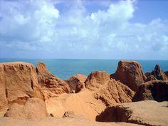 Praia Canoa Quebrada #Fortaleza #Brazil #CanoaQuebradaBeach