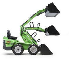 Multi-function utility vehicle / diesel 13 - 20 hp, max. 9 km/h | 300 series Avant Tecno Oy