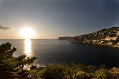 Cala Llamp #sunset - Mallorca #Spain