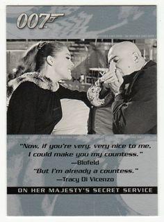 James Bond - The Quotable # 12 - On Her Majesty's Secret Service