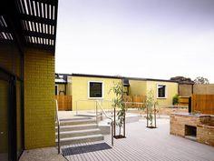 Kerstin Thompson Architects: Community Housing | glazed, coloured and textured brick