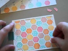 Learn how to use Papertrey Ink's new Happy Hexagons stamp set and coordinating Cover Plate: Hexagons. Plus a few tips on how to use the helpful Color Planning worksheet available on the coordinating blog post: http://nicholeheady.typepad.com/capture_the_moment/2012/06/introducing-happy-hexagons-background-basics-rainbows-we-go-together-and-hear...