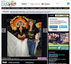 La presentadora de noticias Primer Impacto (Univisión), Natalia Cruz, celebró junto a la comunidad colombiana de Miami el Carnaval de Barranquilla. http://www.peopleenespanol.com/gallery/en-que-andan-los-famosos-356#713146_713211