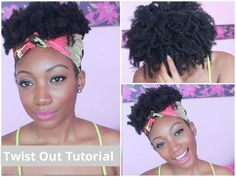 """Messy"" Twist Out Tutorial 