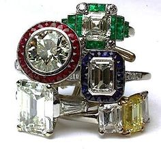 Antique engagement rings.. I wish.