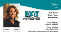 Exit Realty Business Card WP1016. Visit http://www.bestprintbuy.com/exit-realty/exit-realty-business-cards/exit-realty-business-cards-with-photo.htm