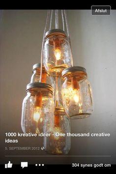 Sjove lamper, som jeg tænker jeg vil male først - det bliver vist rødbedeglas, evt med snor om inden jeg malet