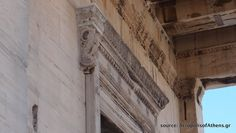 Erechtheion (detail of door frame)  Related: https://www.facebook.com/AcropolisofAthens.gr