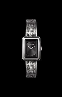 PREMIÈRE·BOY DE CHANEL TWEED SMALL VERSION - CHANEL Chanel Watch 6003a371b02