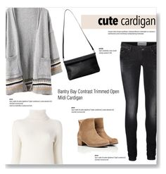 """My Favorite Cardigan"" by burcuciz ❤ liked on Polyvore featuring UGG Australia, Monki, Vero Moda, Chloé and mycardi"