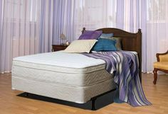Plush Memory Foam 11-Inch Twilight Mattress by Atlantic Beds King Size with Foundation by Atlantic Beds. $1999.00. Our Twilight Memory Foam Bed is where soft comfort merges with essential support.