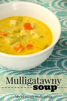 Mulligatawny soup #soup #curry #chickensoup mymommystyle.com