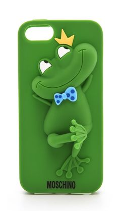 Moschino iphone frog case