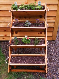 """24"""" 4 large planters raised bed vegetable garden for herb, tomato, flower, and strawberry gardening planter kit - free shipping. $156.00, via Etsy."""
