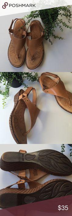 Born sandals Leather Born sandals, worn once, size 8M. Born Shoes Sandals