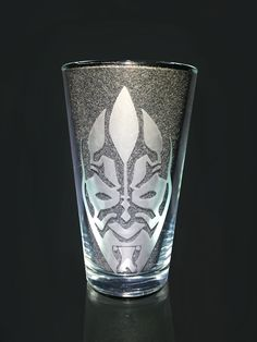 Darth Maul, Star Wars Sith Etched Glass, Unique Custom Gift, Birthday Gift by CrystalGlassDecor on Etsy Etched Glass, Glass Etching, Elder Scrolls Skyrim, Star Wars Sith, Presents For Him, Darth Maul, Crowley, Pint Glass, Customized Gifts