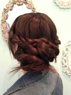 Gorgeous Braid Bun!