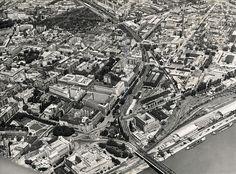 Zo vzduchu - Dostojevského rad - Pohľady na Bratislavu Bratislava, Dark Souls, Old City, Historical Photos, Php, City Photo, Train, Times, Sweet