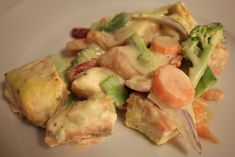 LAVKARBO middag – Side 2 – Charlottes verden- Forlovet og Lykkelig Kiwi, Squash, Potato Salad, Potatoes, Meat, Chicken, Ethnic Recipes, Food, Alcohol